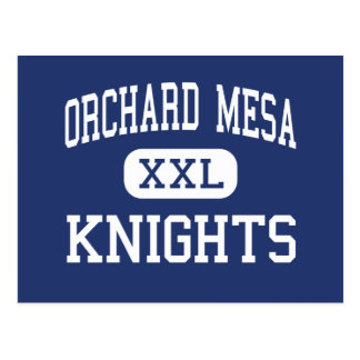 Orchard Mesa Knights Middle Grand Junction Postcard