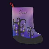 Orchard of Stars Christmas Stocking