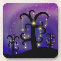 Orchard of Stars Cork Coaster