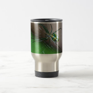 Orchard Orb Weaver Spider 15 Oz Stainless Steel Travel Mug