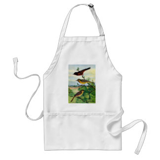 Orchard Orioles Vintage Painting Adult Apron