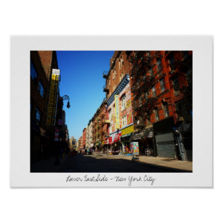 Orchard Street - Lower East Side - New York City Poster