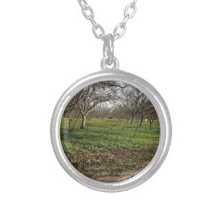 orchard trees landscape custom jewelry