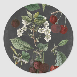Orchard Varieties I Classic Round Sticker