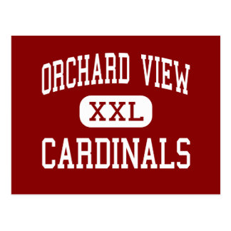 Orchard View - Cardinals - Middle - Muskegon Postcard