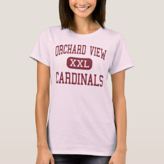 Orchard View - Cardinals - Middle - Muskegon T-Shirt