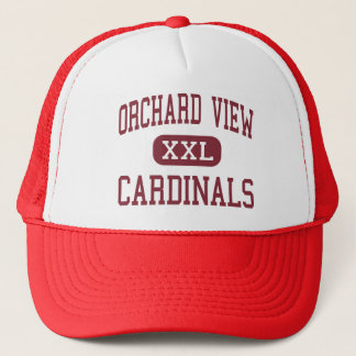 Orchard View - Cardinals - Middle - Muskegon Trucker Hat