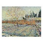 Orchard With Cypress By Vincent Van Gogh Personalized Invites