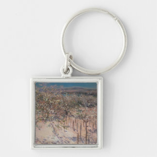 Orchard with Flowering Apple Trees, Colombes Keychain