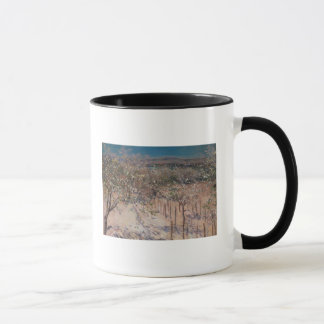 Orchard with Flowering Apple Trees, Colombes Mug