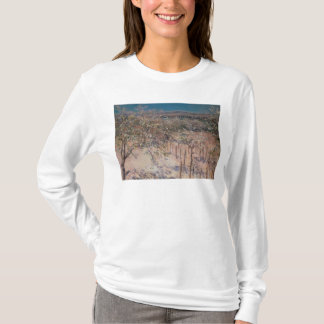 Orchard with Flowering Apple Trees, Colombes T-Shirt