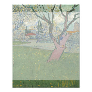 Orchards in Blossom View of Arles by Van Gogh Flyer