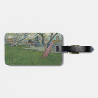 Orchards in Blossom View of Arles by Van Gogh Luggage Tags