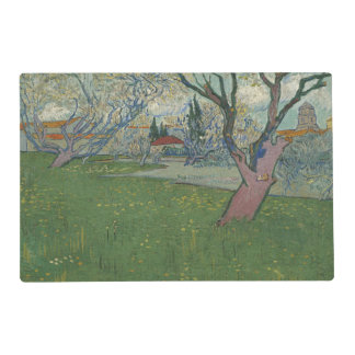 Orchards in Blossom View of Arles by Van Gogh Placemat