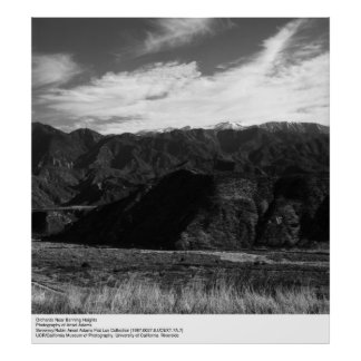 Orchards Near Banning Heights by Ansel Adams Poster