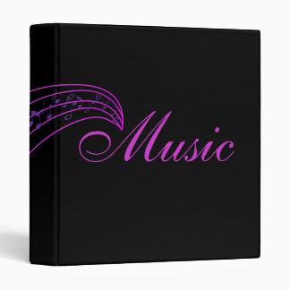 Orchestra Band Member Sheet Music Songs Book Binder
