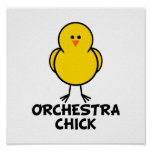 Orchestra Chick Poster