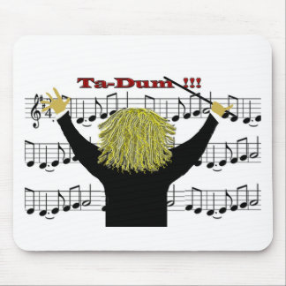 Orchestra Conductor Congratulations Mouse Pad