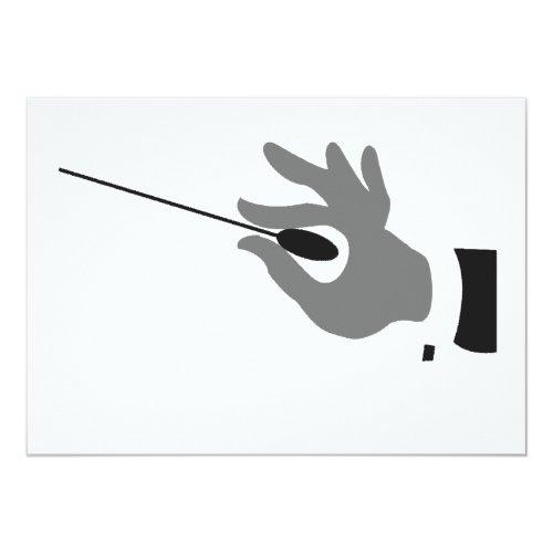 Orchestra Conductor Invitations