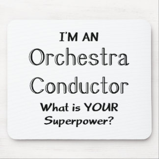 Orchestra conductor mouse pad