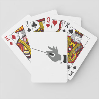Orchestra Conductor Playing Cards