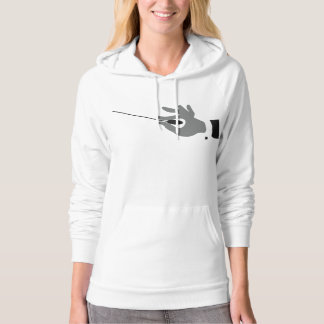 Orchestra Conductor Womens Hoodie