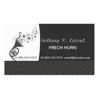Orchestra   French Horn Double-Sided Standard Business Cards (Pack Of 100)