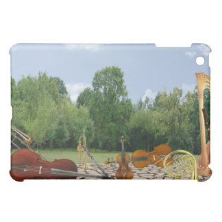 Orchestra Instruments in Park iPad Mini Cover
