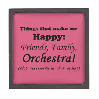 Orchestra Makes Me Happy Gift Box