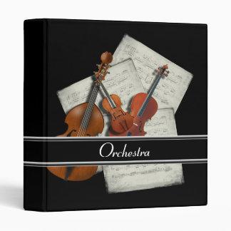 Orchestra Music Binder