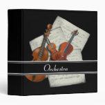 Orchestra Music Binder Vinyl Binders