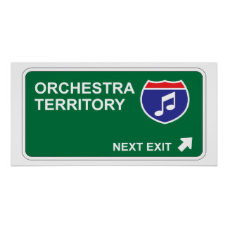 Orchestra Next Exit Poster