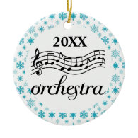 Orchestra Personalized Christmas Ornament