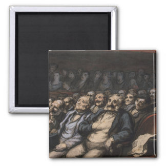 Orchestra Seat, c.1856 2 Inch Square Magnet