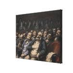 Orchestra Seat, c.1856 Canvas Print