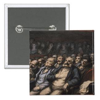 Orchestra Seat, c.1856 Pinback Button