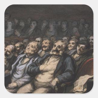 Orchestra Seat, c.1856 Square Sticker