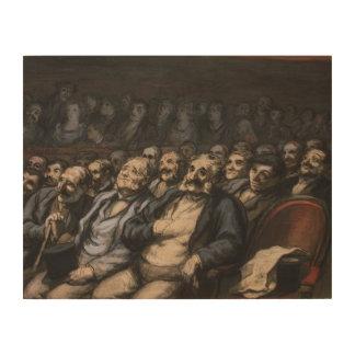 Orchestra Seat, c.1856 Wood Print