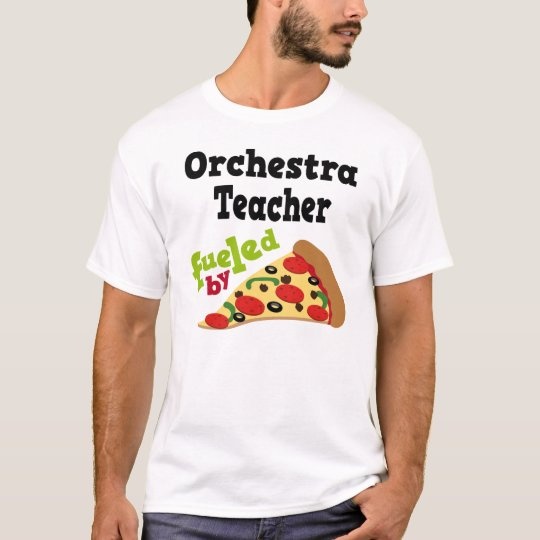 Orchestra Teacher (Funny) Pizza T Shirt
