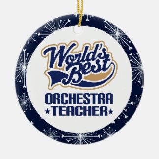 Orchestra Teacher Gift Ornament
