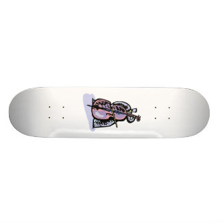 Orchestral Bass Player Image Graphic Design Skateboard