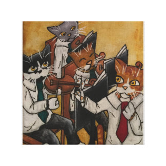 Orchestral Cats Canvas Print