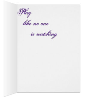 Orchestral Greeting Card