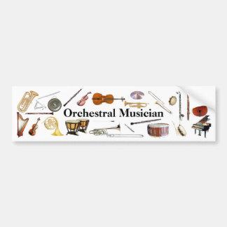 Orchestral Musician Bumper Sticker