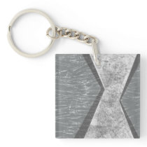 Orchestrated Geometry IV Keychain