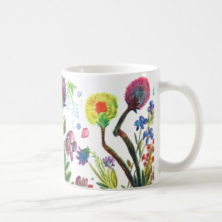 Orchid18 dark and Orchid 15 transparent together  Classic White Coffee Mug