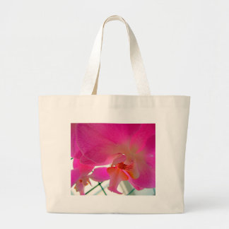 Orchid 1 large tote bag