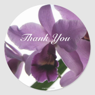 Orchid 1 Thank-You/ Stickers