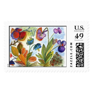 Orchid-24 postage stamp
