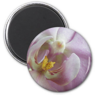 Orchid 2 Inch Round Magnet